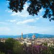 Quadro Il cielo sopra Firenze