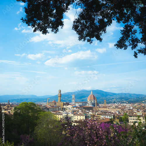 Poster Florence Il cielo sopra Firenze