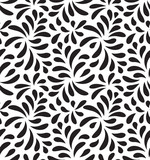 MODERN FLORAL SEAMLESS VECTOR PATTERN. DROP SHAPE NATURE BACKGROUND. LEAVES DECORATIVE TEXTURE. - 193346731