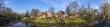 Leinwanddruck Bild - Bauernhausmuseum Vreden an der Berkel