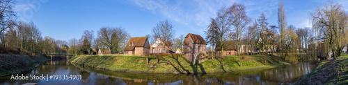 Leinwanddruck Bild Bauernhausmuseum Vreden an der Berkel