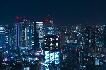 東京 新宿 夜景