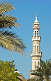 minaret  on a sky background