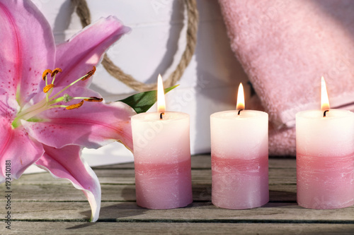 Foto op Canvas Azalea Wellness and relaxation for mothers day