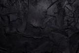 Black textured concrete - 193424385