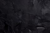 Black textured concrete - 193424386
