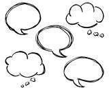 speech bubbles - 193437553