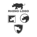 rhino logotype - 193443518