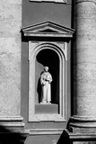 detail of the church of San Leonardo in Manciano, Tuscany