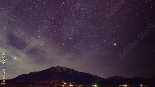 Aluminium Aubergine Starscape