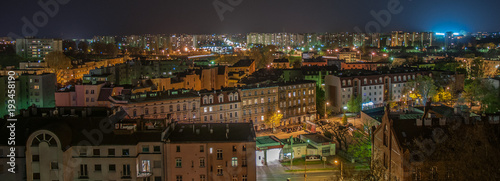 Miasto Opole nocą  - 193458190