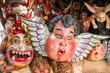 copies of angels from the interior of Santa Prisca Church in Taxco De Alarcon, Mexico.