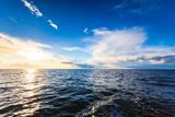 Beautiful seascape evening sea horizon and sky - 193467534
