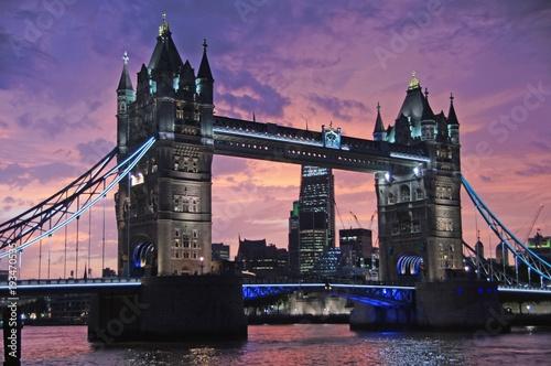 Keuken foto achterwand London Tower Bridge of London