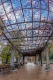 Platform of the railway station Baile Herculane, Romania - 193491776