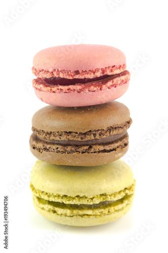 Foto op Canvas Macarons Macarons