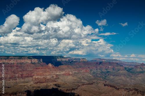 Tuinposter Diepbruine Grand Canyon South Rim