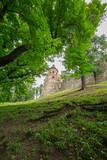 Gotycki zamek Stara Lubovna na Słowacji