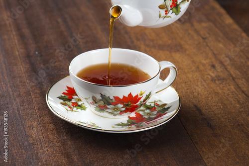 Papiers peints The tea in cafe