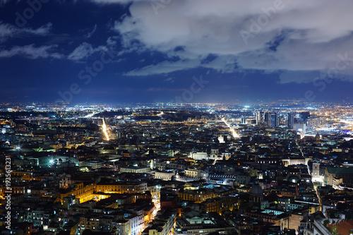 Fotobehang Napels Napoli Panorama