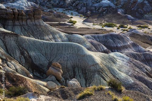 Aluminium Arizona Sunrise at Chindi Point in Painted Desert National Park near Holbrook Arizona USA