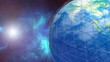 3d rendering. Planet earth protect