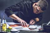 Chef Koch,Lachs zubereitung - 193613562