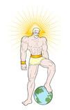 powerful god draw - 193638972