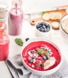 Berries smoothie for Healthy Breakfast. - 193648728