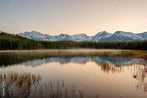 Foto op Canvas Natuur Bierstadt Lake, Rocky Mountains, Colorado, USA.