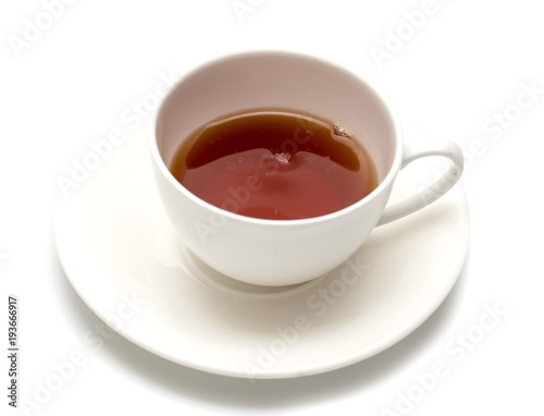 Papiers peints The Tea in a cup on a white background