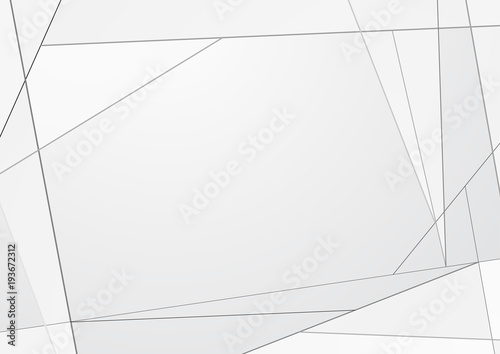 Szary geometryczne trójkątny szablon tło kryształ