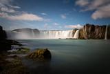 Godafoss waterfall in Iceland, Europe.