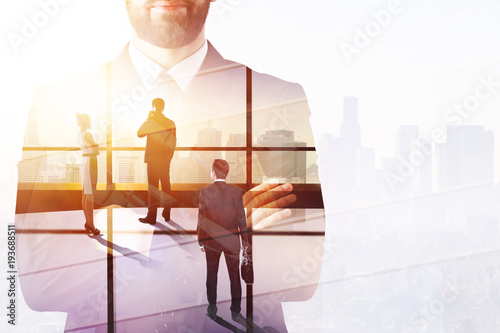Meeting and success concept