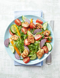 Chicken Salad with Colorful Vegetables - 193689184