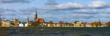Schwerin, Panorama über Schweriner See, Theater, Marstall