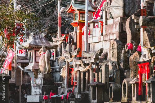 Papiers peints Kyoto Fushimi Inari Shrine, shrine, Torii
