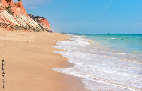 Plaża Falesia w Portugalii