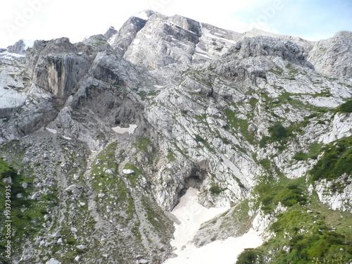 Deurstickers Khaki Montagna