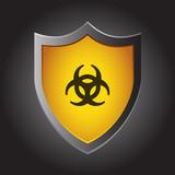 Shield Icon - Biohazard - 193751521