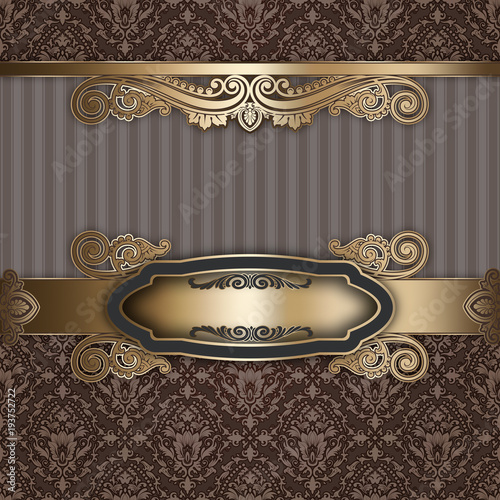 decorative-luxury-background-with-golden-frame