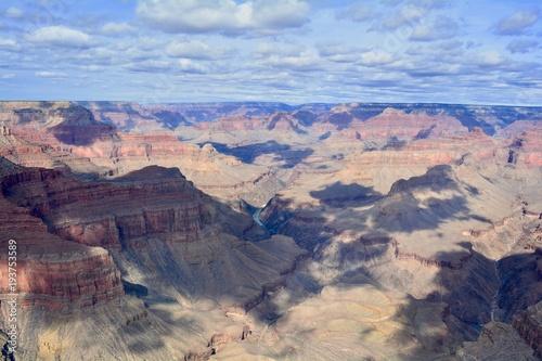 Foto op Canvas Bleke violet Grand Canyon National Park South Rim Arizona