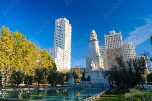 In de dag Madrid マドリード スペイン広場