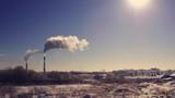 factory pipe smoke - 193781968