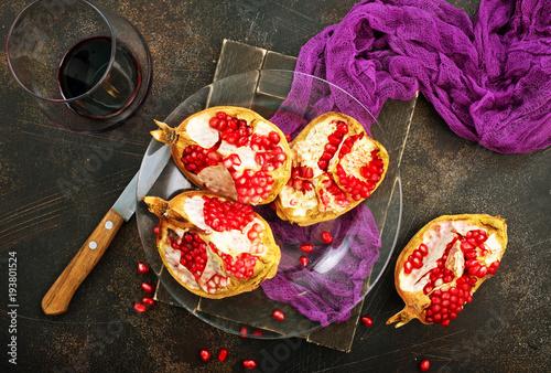 Papiers peints Jus, Sirop pomegranate