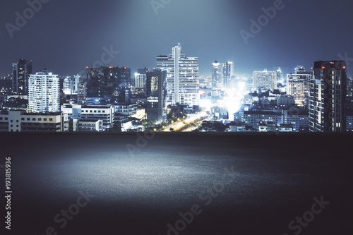 Creative night city background - 193815936