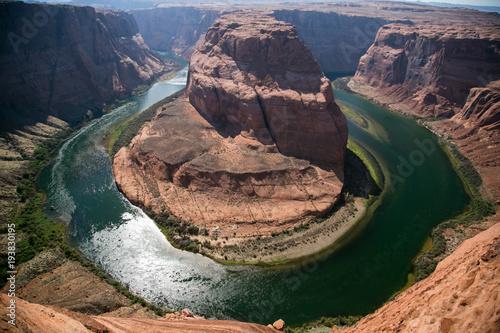 Fotobehang Arizona Horseshoe Bend