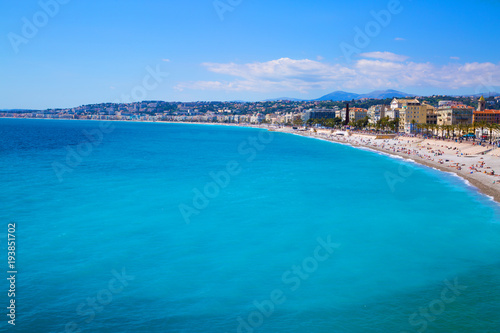Fotobehang Nice Nice, French Riviera, Cote d'Azur or Coast of Azure.