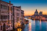 Fototapeta Grand Canal at night, Venice