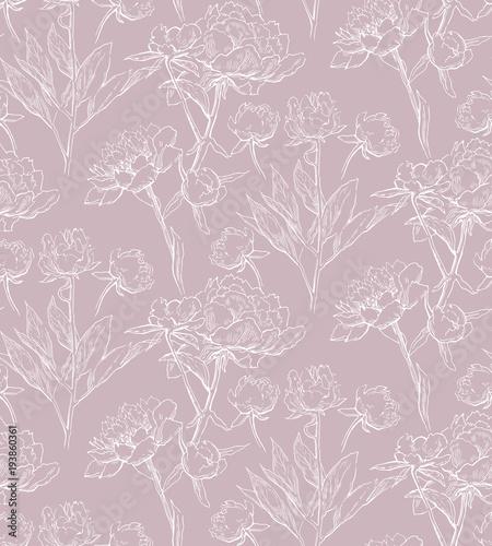 Floral seamless pattern - 193860361
